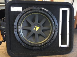 "Kicker dual 10"" speaker with Amp"