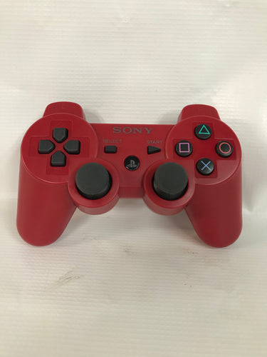 PS3 Red Wireless Remote