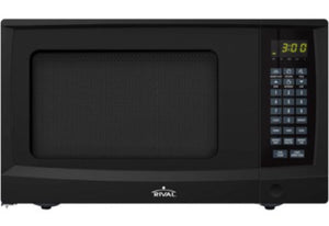 Rival Black Countertop Microwave