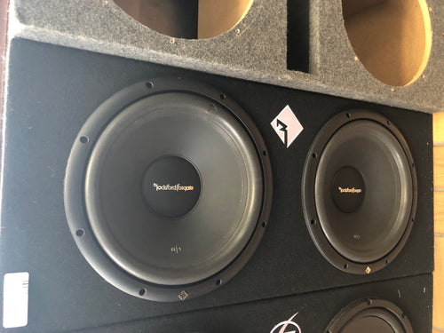 "Rockford Fosgate 12"" R1 Subwoofers (New)"