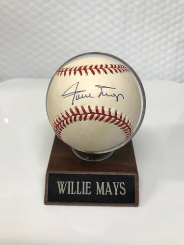 Willie Mays Signed Ball
