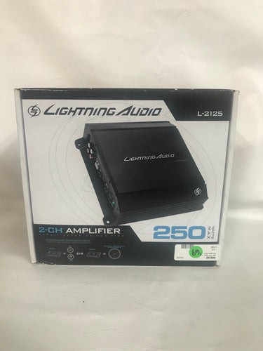 Lightning Audio 250 Watts Max Amp