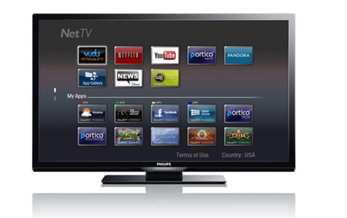 "Philips 46"" Smart TV"