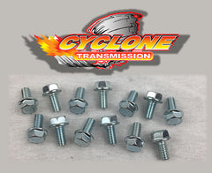 Turbo 350 Pan Bolt Set 5/16 x 18 Zinc