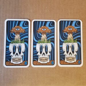 Shroomhead Sticker 3-pack
