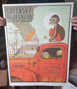 Greensky Bluegrass Anthem Metallic White Gold AP