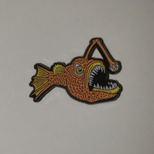 ODDS Angler Enamel Pin- Orange