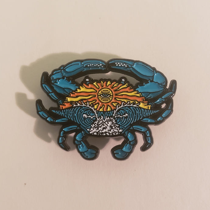 ODDS Blue Crab Pin