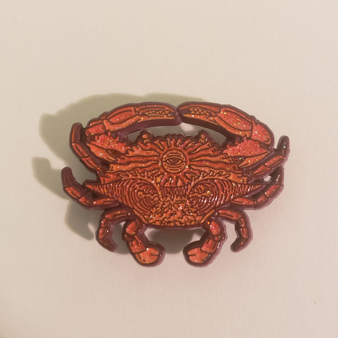 ODDS Steamed Crab Pin