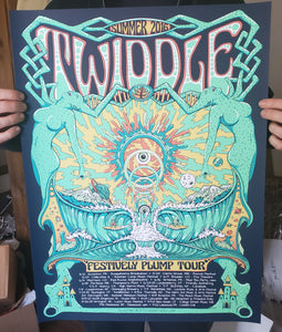 Twiddle Summer 2016 tour print
