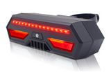 Bicycle taillights with usb