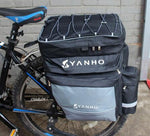 43 L Mountain bike pannier bag, rain cover