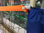 6m Portable rack net for badminton tennis and volley
