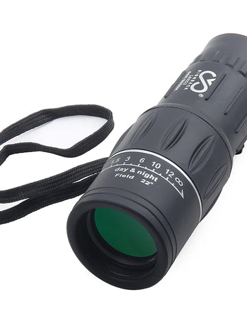 SRATE 16 X 52 mm Monocular High Definition Portable Night Vision in Low Light Camping / Hiking Hunting
