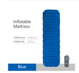 Inflatable cushion outdoor tent sleeping mat