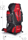 Professional mountaineering 80L outdoor Travel Backpack Bag for hiking camping