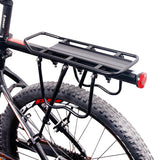 Bicycle aluminum rear shelf - bike rack