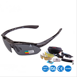 XQ HQ Polarized UV protection sunglasses with 5 changeable lens