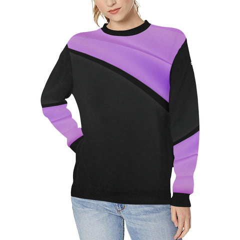 Energy Flow Elastic Sport Sweatshirt for Woman