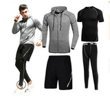 Men's Running Fitness Tracksuit Set