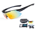 RockBros Polarized Cycling SunGlasses Outdoor Sports Men Women 5 Lens