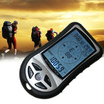 8-in-1 hand-held electronic altimeter Mountaineering portable fishing barometer compass altimeter