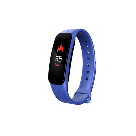 L6 color screen smart bracelet heart rate blood pressure call reminder