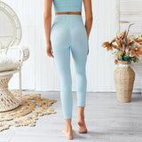Sport Bra and High Waist Legging Yoga exercise suit