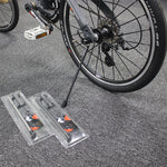 Quick-Release Folding Road Bicycle Parking Frame