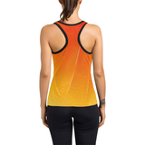 Flaming Women's Racer Back Sport Tank Top