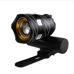 USB Highlight Mountain bike headlights with taillights