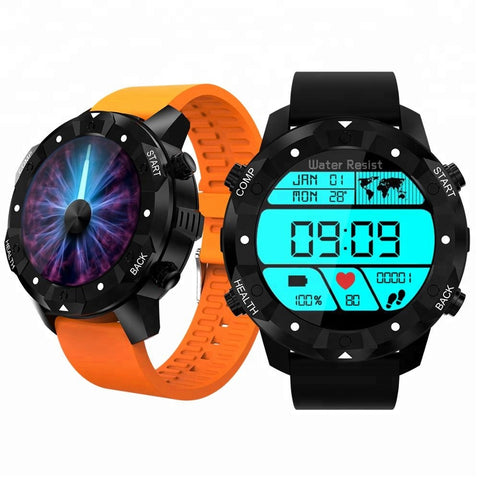 Ce Rohs Powerful Sports Waterproof 3g Gps Bluetooth Heart Rate Monitor Android Smart Watch - Buy Android Smart Watch
