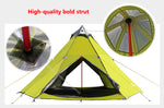 Double Layer 5-8 Persons Waterproof Camping Pyramid Tipi Tent Family Camping Grassland Big Kids Tent - Buy Tent