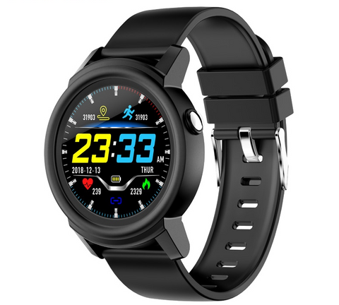 Smartwatch IP67 Waterproof Heart Rate Monitor Color Display For Android IOS