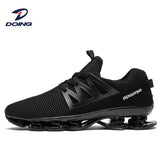Elastic sole performance men sneakers running blade air shoes