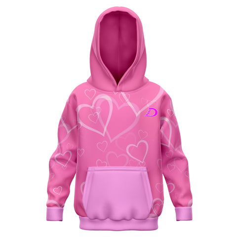 Dilfa Fashion Children Hoodie Pink