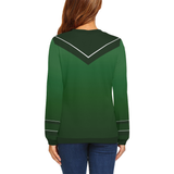 Ray of Light Sweatshirt - Woman's Sport Elastic Sweatshirt