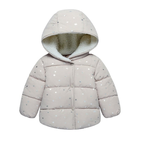 Autumn Winter Jackets for Baby or Children  Printed Cotton Padded Clothes