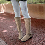 Women Winter Warm Snow Boot Casual Comfortable Warm Plush Winter Knee High Boots