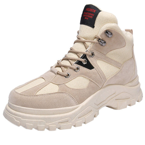 Winter Men  Wear Resistant PU Boots