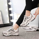 Fashion Women Sports Shoe Fly Woven Breathable Casual Shoe Student Running Shoes