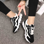 Women Casual Sports Running Shoe Woven Breathable