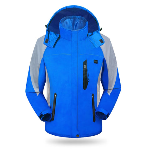 Winter Warm Unisex Jacket Chargeable Electric Heated