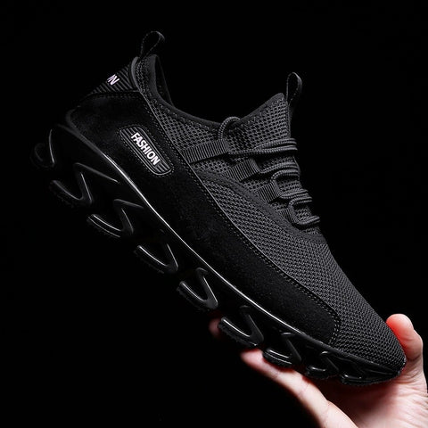 Men's Casual Running Sport Shoes Man Breathable Flats Shoes,Men's outdoor sports shoes, mountaineering shoes, outdoor running shoes.