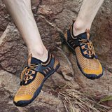 Mountaineering outdoor casual shoes - wading quick-drying elastic band shoes
