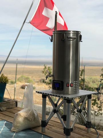 Bristlecone Pine Brew Day in Great Basin National Park