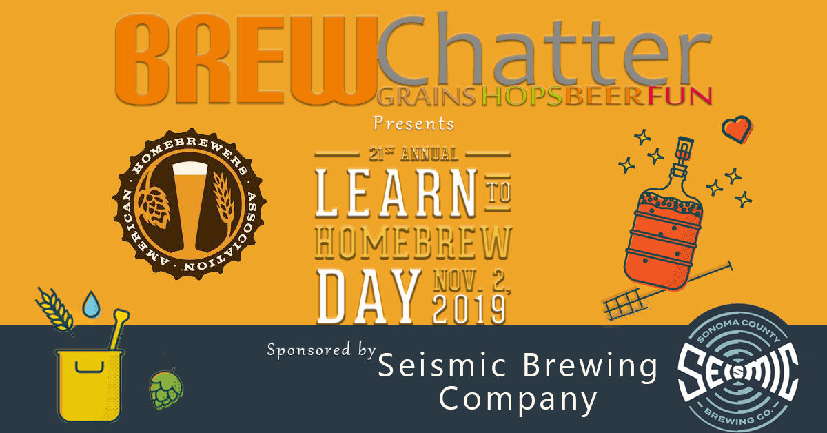 AHA, Seismic Brewing, BrewChatter, Home Brew, Learn to Homebrew