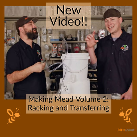 Making Mead Volume 2 youtube video How to Home Brew Mead