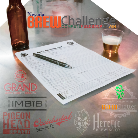 Nevada BrewChallenge, Heretic Brewing Company, Occidental Brewing Company, Imbib Brewery, Pigeon Head Brewery, Grand Sierra Resort, GSR