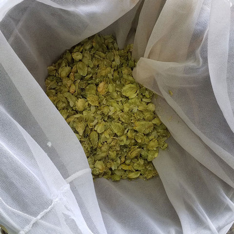 Whirlpool Hop Additions hops for maximum terpene extraction
